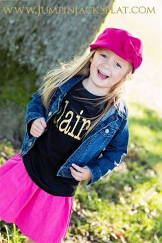 Personalized Golden Glam Girly Named Tees! | Jane