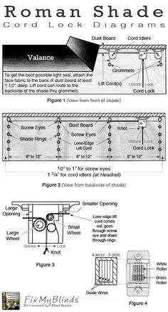 46 Best Blind Repair Diagrams Amp Visuals Images Blind
