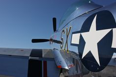 The beauty of a P-51 Mustang