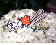 You never know where you'll find a bookfairy - Debbie Ridpath Ohi - Debbie Ridpath Ohi (Twitter: @inkyelbows)