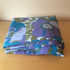 Vintage Double Duvet Cover in Bright and Bold by FoxFowweather