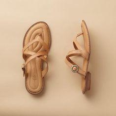 <3 comfy sandals