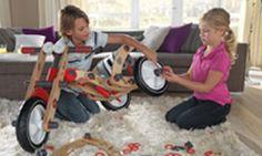 Met MOOV bouw je meer houten speelgoed. - BERG Toys