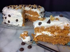 Food Fitness by Paige: Cream Cheese Granola Cake