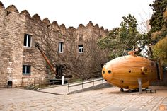 The Maritime Museum of Barcelona is located in the building of the Atarazanas Reales, close to the harbour and at the foot of the Montjuïc mountain. Barcelona Tourism, Maritime Museum, Seaside, Mountain, Culture, History, City, Building, Travel