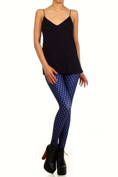 Polka Dot Leggings | POPRAGEOUS