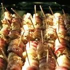Bacon Roll Ups - My Aunt Mary Jo always made these for family dinners!  They are to die for!!