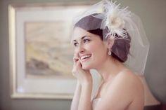 love this veil! Erin Cole veil with flower and feathers Wedding Hair Flowers, Wedding Veils, Flowers In Hair, Bridal Entourage, Flower Veil, Wedding Images, Wedding Ideas, Wedding Stuff, Wedding Photography Inspiration