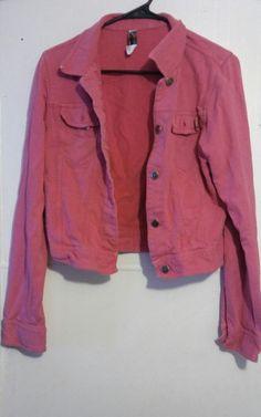 Hard Tail Forever Girls Large Pink Cotton Jacket #HardTailForever #Everyday