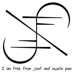 """Sigil Athenaeum - """"I am free from joint and muscle pain"""" sigil ..."""