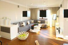Jasny salon: 10 pięknych wnętrz z polskich domów  - zdjęcie numer 3