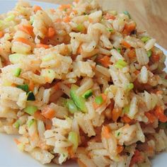 """Delicious Vegan Fried Rice 