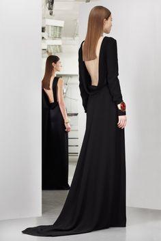 Vestido de fiesta largo Dior Pre-Autumn 2013-2014