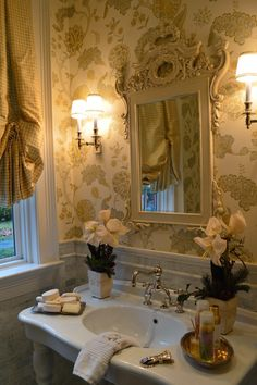 french Bathroom Decor The Enchanted Home - A reminder that the last day to place holiday orders for my online shop is this Tuesday, December - French Country Style, French Country Decorating, Enchanted Home, Chic Bathrooms, Rustic Bathrooms, Master Bathrooms, Bathroom Vanities, Bathroom Storage, Beautiful Bathrooms