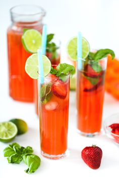 Strawberry Basil Lim
