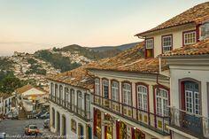 Centro Histórico de Ouro Preto, uma viagem à época colonial do Brasil, em Minas Gerais.  Fotografia: Ricardo Junior / www.ricardojuniorfotografias.com.br