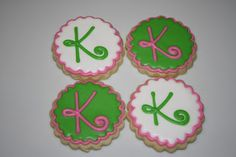Whip it Good Cookies: monogram