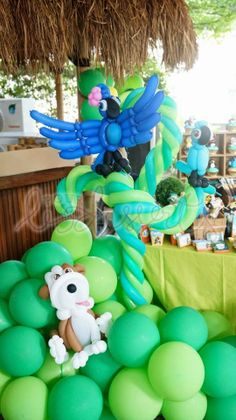 Rio 2 Themed Birthday Party