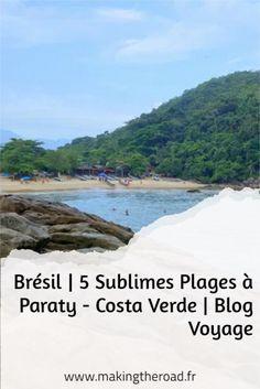 Voici 5 plages paradisiaques que j'ai découvert lors de mon road trip au Brésil sur la Costa Verde prés de Paraty. #bresil #plage #voyage Brasil Travel, Les Fjords, Destinations, Voyage Europe, Destination Voyage, Blog Voyage, Voici, Road Trip, About Me Blog