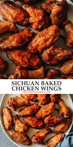 Take your chicken wings to the next level with a Chinese BBQ street food flair that makes these Sichuan chicken wings a dinner-time treat or a summer gathering staple! Best Chicken Recipes, Turkey Recipes, Asian Recipes, New Recipes, Duck Recipes, Chinese Recipes, Party Recipes, Amazing Recipes, Chinese Food