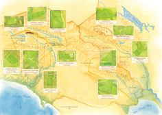 Vineyard Map - Sonoma County