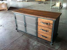Ellis Console by Greg Hankerson of Vintage Industrial Furniture #industrialfurniture