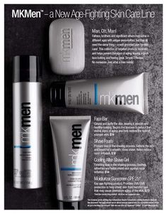 Mk men ... What a great gift to offer any man in your life! Place your order with me today.