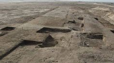 """excavation: The ruins are roughly 3000 years old, and are being described as """"significant"""" because of the details they lend to the study of ancient Egyptian warfare."""