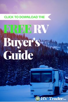 Are you looking to buy an RV? Check out this awesome FREE buyer's guide from RV Trader!  Learn how to: -Determine the Right RV for you -Navigate the Buying Process -Finance Your RV -Check Wheels, Tires & Under the Hood -and more!