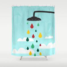 PATTERN Shower Curtain by Mark Ashkenazi - $68.00