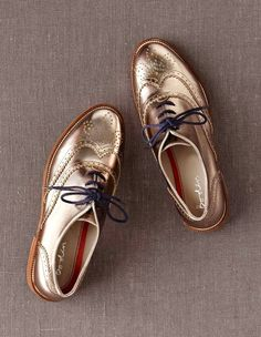 Clear Oxfords'a karşı Metallic Oxfords! | Stiledi