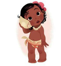 Disney And Dreamworks, Disney Pixar, Moana E Maui, Festa Moana Baby, Brittney Lee, Moana Disney, Chibi, Disney Movies, Disney Characters