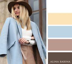 NEUTRALS: White, Beige || ACCENTS: Soft Yellow, Light Blue, Dark Brown