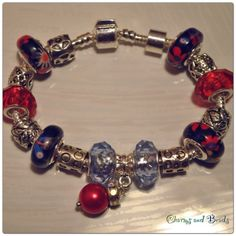 Red pearl bracelet