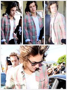 Harry leaving Craig's restaurant in West Hollywood, LA today - 12.03.2014