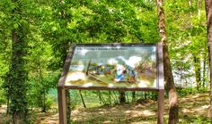Trail of Tears Wayside Exhibit in Waynesville, MO