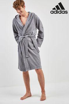 Buy adidas Grey Bathrobe from the Next UK online shop Boy Fashion, Mens Fashion, Baby Unicorn, Next Uk, Uk Online, Latest Fashion For Women, Making Out, Adidas Men, Unisex