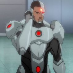 """Cyborg from ""Justice League: Throne of Atlantis this is the best cyborg."