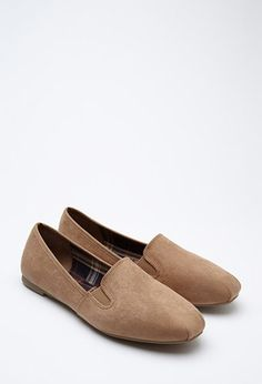 Faux Suede Loafers | Forever 21 - 2000179241