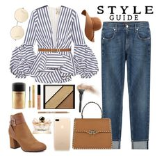 """""""Out and about"""" by hollistergirl911 ❤ liked on Polyvore featuring Johanna Ortiz, 7 For All Mankind, Valentino, Victoria Beckham, M&Co, Salvatore Ferragamo, Bobbi Brown Cosmetics, Elizabeth Arden, Yves Saint Laurent and MAC Cosmetics"""