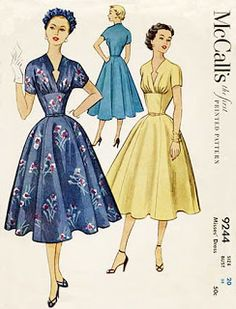 Help with dating vintage sewing patterns.
