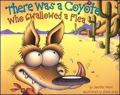 Lesson Plans for There Was a Coyote Who Swallowed a Flea...one of our favorite books!