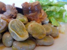 Receita de Favas guisadas com Enchidos e Entrecosto de Porco .:. Kitchenet