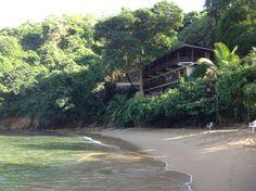Beach house in Castara on little bay.