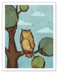 'Sketch Owl' by Michael Murdock