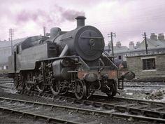Old Steam Train, Steam Railway, British Rail, Steam Engine, Steam Locomotive, Belfast, Northern Ireland, Irish, Past