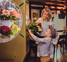 Автомат по продаже цветов