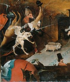 Hieronymus Bosch - drawings and paintings from Museum Boijmans Van Beuningen- detail