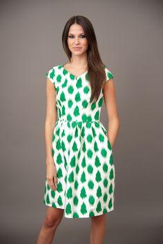 ELIZABETH MCKAY: Hello Darling Dress-Green