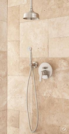 Vasilis Shower System With Rainfall Shower And Hand Shower